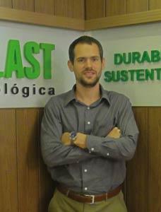 """Plástico Moderno, Guilherme Bampi, Superintendente da Madeplast, Reciclagem - Resíduos plásticos viram """"madeira"""" de futuro bem promissor"""