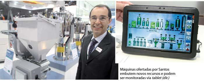 Plástico Moderno, Ricardo Prado Santos, Vice-presidente da Piovan do Brasil, Brasilplast 2011 - Periféricos - Sistemas propõem mais eficiência