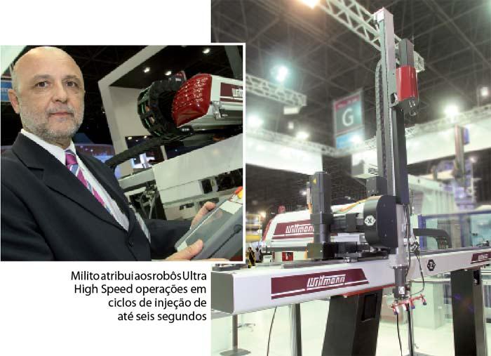 Plástico Moderno, Reinaldo Carmo Milito, Diretor da Wittmann-Battenfeld do Brasil, Brasilplast 2011 - Periféricos - Sistemas propõem mais eficiência