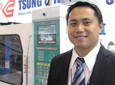Plástico, Newton Tien, gerente industrial da Tsong Cherng, Interplast - Com mais expositores e visitantes, o evento gera negócios pós-feira estimados em valores acima de R$ 480 milhões