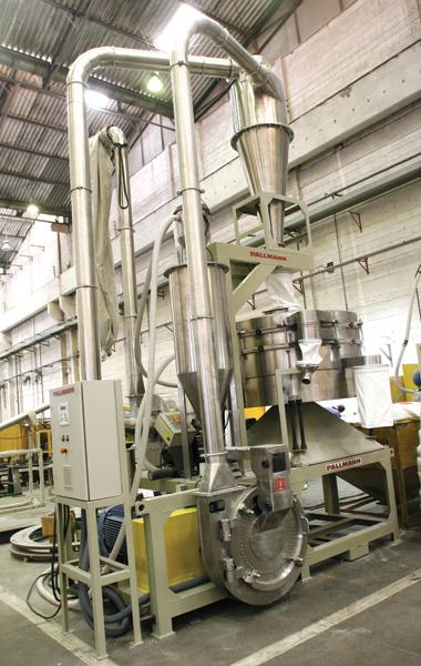Plástico, Moinhos - Fabricantes aperfeiçoam processo com redução de ruídos e maior segurança