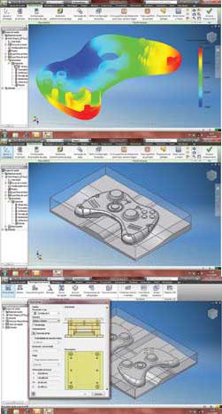 Plástico, Softwares  sofisticados como o Autodesk, ajudam a projetar o molde desde a captura do design da peça