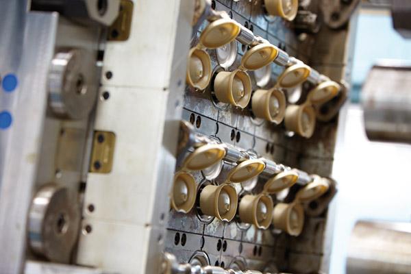 Dispositivo IMC fecha tampas antes da extração