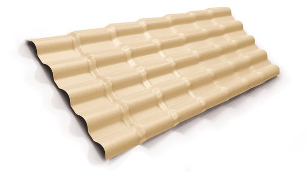 Telhas de PVC se destacam por causa da resistência e leveza
