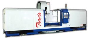 Plástico Moderno, Vertical, M-2500 é reforçado e de alta precisão