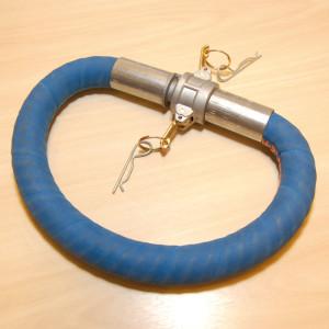 Plástico Moderno, Fibras de PEUAPM da Ticona reforçam o interior de mangueira para fluidos hidráulicos