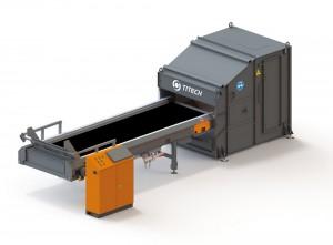 Plástico Moderno, Titech Finder, da Tomra, é usado para separar metais