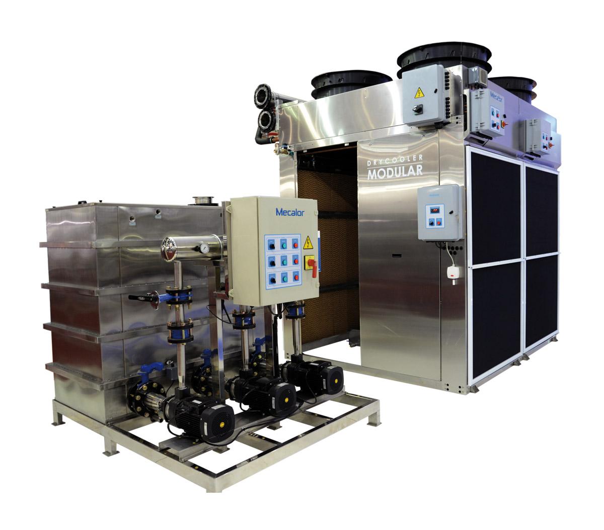 Plástico Moderno, Dry cooler modular da Mecalor
