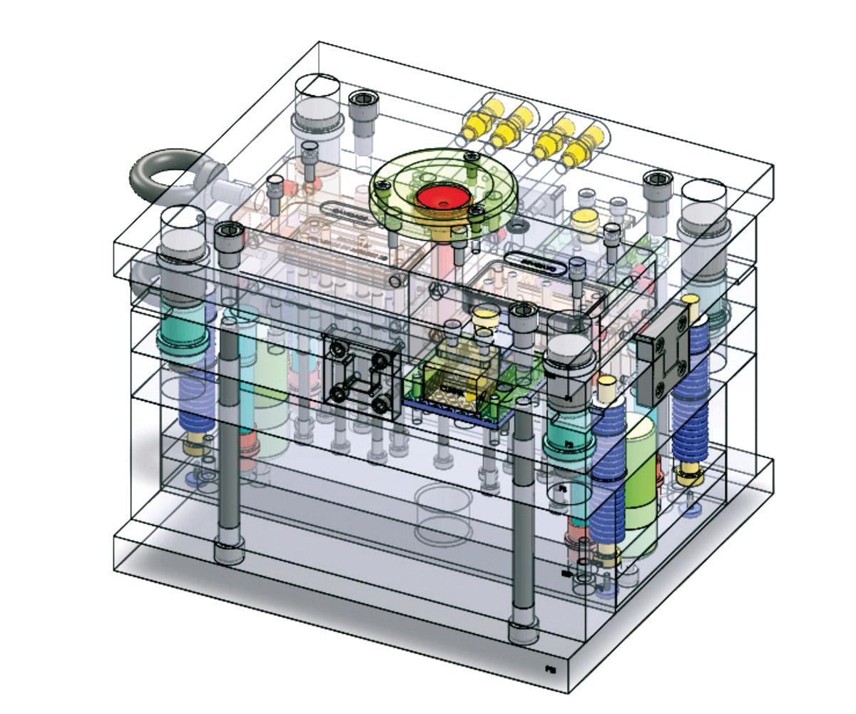 Plástico Moderno, Transformação - Moldes de Injeção para Termoplásticos
